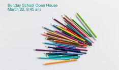 Sunday School Open House - Mar 22 2015 9:45 AM