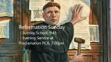 """The Savior of the World"" - Preparing for Worship, Reformation Sunday"